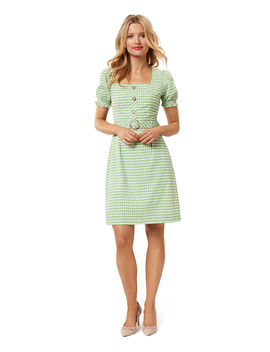 Well Plaid Dress by Review