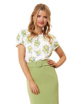 Farrah Floral Top by Review