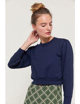 urban-renewal-recycled-puff-sleeve-crew-neck-sweatshirt by urban-renewal