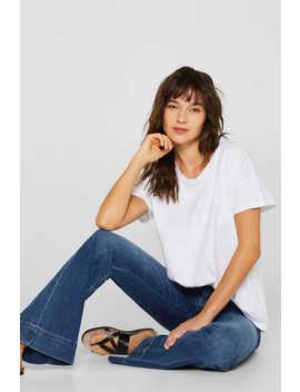 Oversize Shirt Aus 100% Baumwolle by Esprit