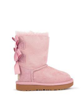 Boots Fourrées En Cuir Et Laine Bailey Bow Ii by Ugg
