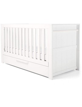 mamas-&-papas-franklin-cot-bed-(white) by preciouslittleone