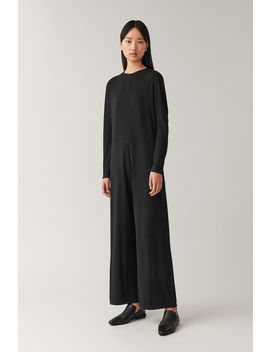long-sleeved-jumpsuit by cos