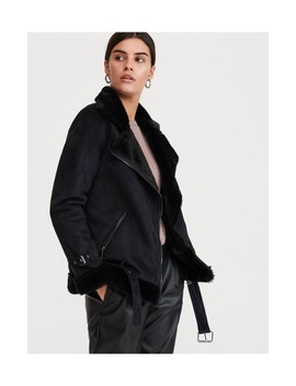 biker-jacket-with-faux-fur-details by reserved