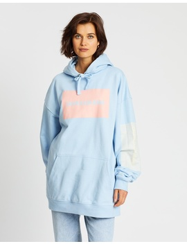 multi-logo-oversized-hoodie by calvin-klein-jeans