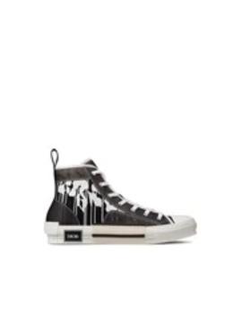 """b23""-high-top-dior-and-raymond-pettibon-print-sneaker by dior"