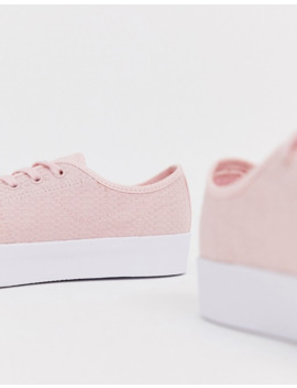 lacoste-flatform-lace-up-sneakers-in-pink by lacoste