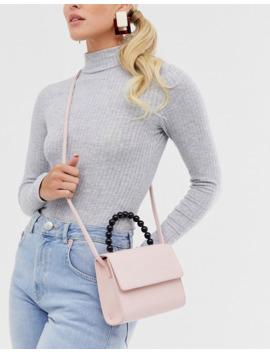 my-accessories-london---mini-sac-bandoulière-avec-poignée-en-perles-en-exclusivité by my-accessories