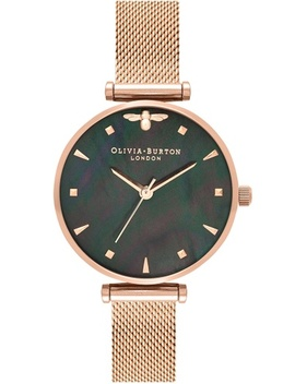 Olivia Burton Queen Bee Rose Gold 30 Women's Watch by Olivia Burton