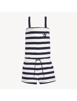 Girls 8 16 Towelling Playsuit by Tommy Hilfiger
