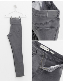 ldn-dnm-skinny-jeans-in-dark-washed-grey by asos