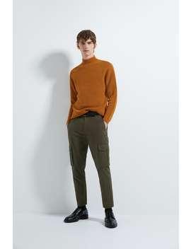 pulover-cu-structurĂ-Și-guler-Înalt by zara