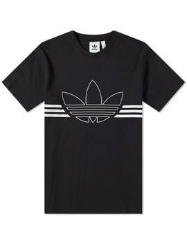 adidas-outline-trefoil-tee by adidas'