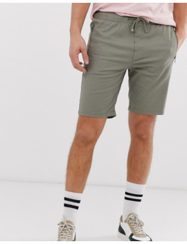 solid-slim-fit-short-zip-detail-in-stone by solid