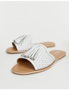 park-lane-tassle-leather-woven-mules by asos