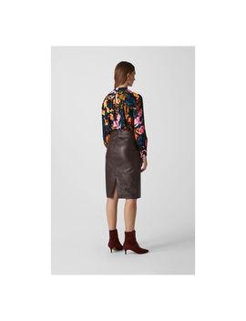 digital-bloom-print-blouse by whistles