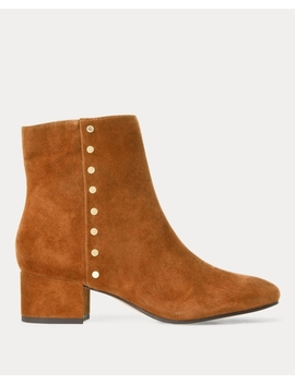 Wharton Suede Boot by Ralph Lauren