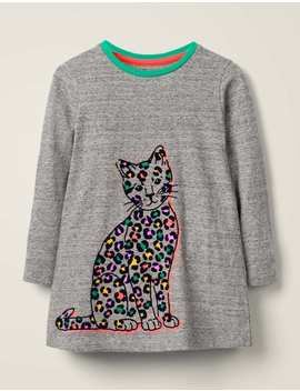 flocked-pets-tunic---grey-marl-cat by boden