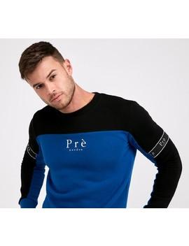 eclipse-sweatshirt-|-blue-_-black by pre-london