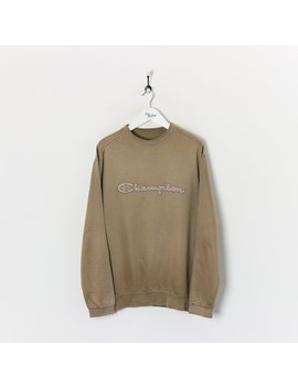 champion-sweatshirt-brown-xxl by champion