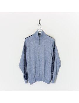 champion-1_4-zip-sweatshirt-blue-xl by champion