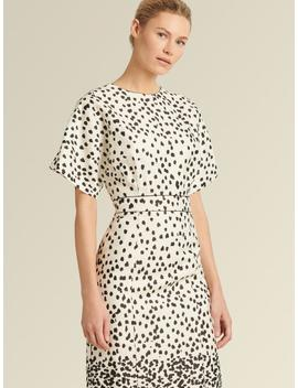 polka-dot-sheath-dress by donna-karan