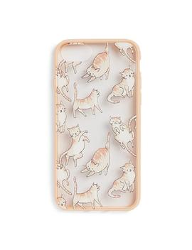 light-pink-cat-iphone-6-phone-case by primark