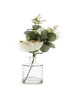 white-faux-flower-in-vase by primark