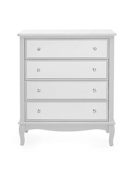 palais-mirrored-grey-4-drawer-chest by dunelm