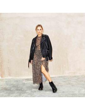 Leopard Lucia Sheer Dress by Never Fully Dressed