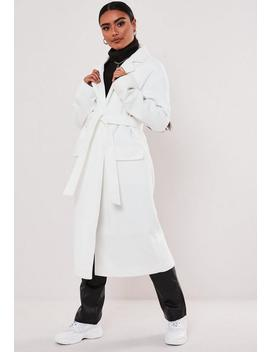 white-belted-formal-maxi-coat by missguided