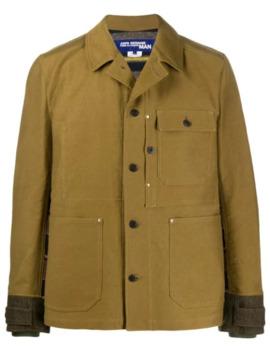 contrast-plaid-jacket by junya-watanabe