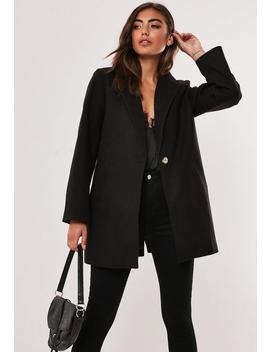 petite-black-ultimate-formal-coat by missguided