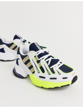 adidas-originals-eqt-gazelle-sneakers-in-navy-and-yellow by adidas