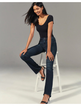 mid-rise-bootcut-jeans by abercrombie-&-fitch