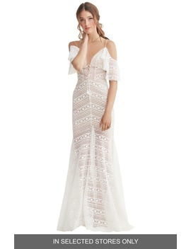 jaycee-cold-shoulder-lace-wedding-dress by willowby