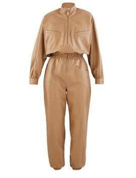 espionage-leather-jumpsuit by zimmermann
