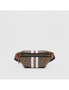medium-monogram-stripe-e-canvas-bum-bag by burberry