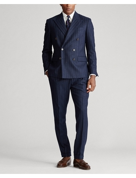 Polo Glen Plaid Wool Suit by Ralph Lauren