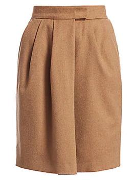 dany-camel-wool-wrap-skirt by max-mara