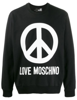 branded-sweatshirt by love-moschino