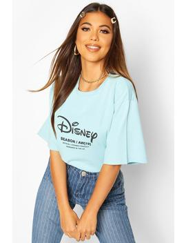 disney-princess-ariel-back-print-t-shirt by boohoo