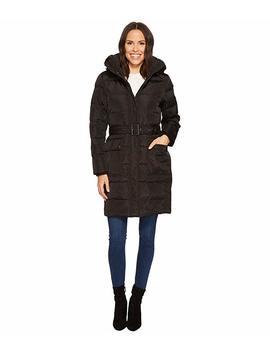 belted-down-coat-with-faux-fur-hood by lauren-ralph-lauren