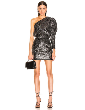 zebra-embroidered-mini-dress by alexandre-vauthier