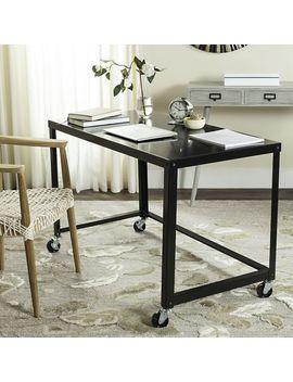 simple-metal-desk---black by west-elm