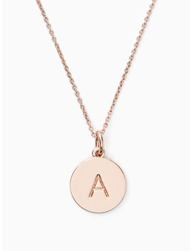 A Initial Pendant by Kate Spade