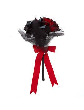 floral-bouquet---black by claires