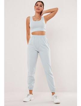 blue-co-ord-three-piece-tracksuit-joggers by missguided