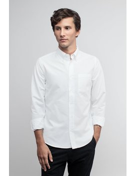 the-oxford-shirt- -white by asket