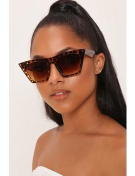 brown-tortoiseshell-angular-sunglasses by i-saw-it-first